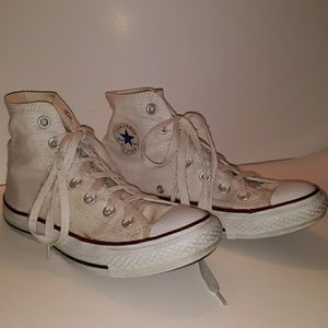 CONVERSE All Star dingy white mens 4 womans 6